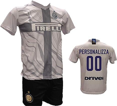 Conjunto de tercera camiseta de fútbol Inter de color blanco y ...