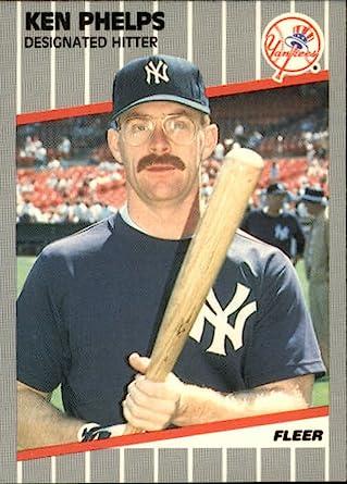 Amazon.com: Baseball MLB 1989 Fleer #264 Ken Phelps #264 NM ...
