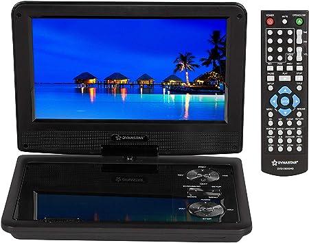 Amazon.com: Reproductor de DVD portátil de 9 pulgadas con ...