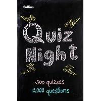 Collins Quiz Night: 10,000 original questions in 500 quizzes (Quiz Books)