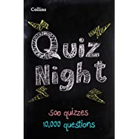 Collins Quiz Night: 10,000 original questions in 500 quizzes