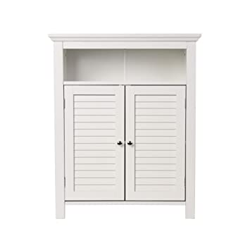 Lovely Glitzhome 32 Inch H Wooden Floor Storage Cabinet