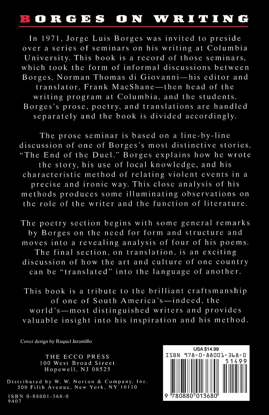 the gospel according to mark by jorge luis borges analysis