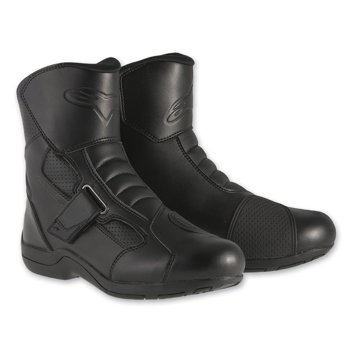 Alpinestars Ridge Waterproof Men's Street Motorcycle Boots (Black, EU Size 47) B01CENQZQI EU Size 47