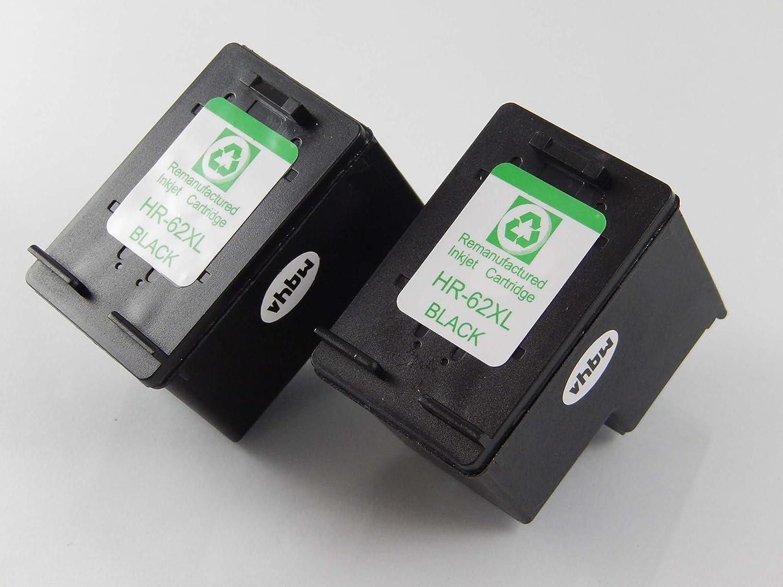 vhbw 3X Cartuchos de Tinta impresión Compatible Cartucho de impresión Tinta Set Negra HP Envy 5600, 5640, 5642, 5643, 5644, 5660, 5665, 7600, 7640, 7645 a61f25