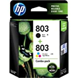 HP 803 2-Pack Economy Black/Tri-Color Ink Cartridges