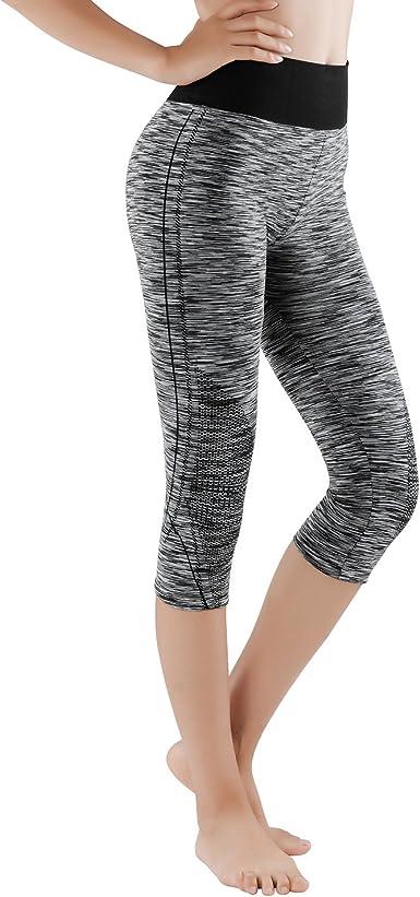 Govia 3 4 Y 7 8 Leggins Para Damas Pantalones Deportivos Largos Para Training Running Yoga Fitness Transpirables Con Cintura Alta 4103 Amazon Es Ropa Y Accesorios