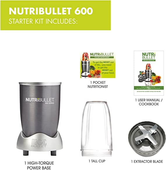 NUTRiBULLET - Licuadora multifunción: Amazon.es: Hogar