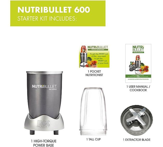 NUTRiBULLET - Licuadora multifunción