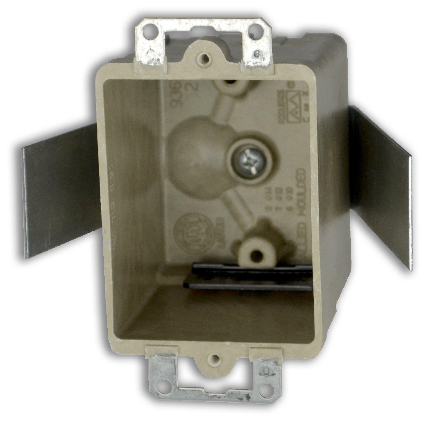 Allied Moulded H9361=ESK Single Gang Fiberglass Box