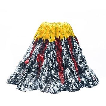 Mejor F pequeño acuario adorno de volcán Bubbler Kit con piedra de ...