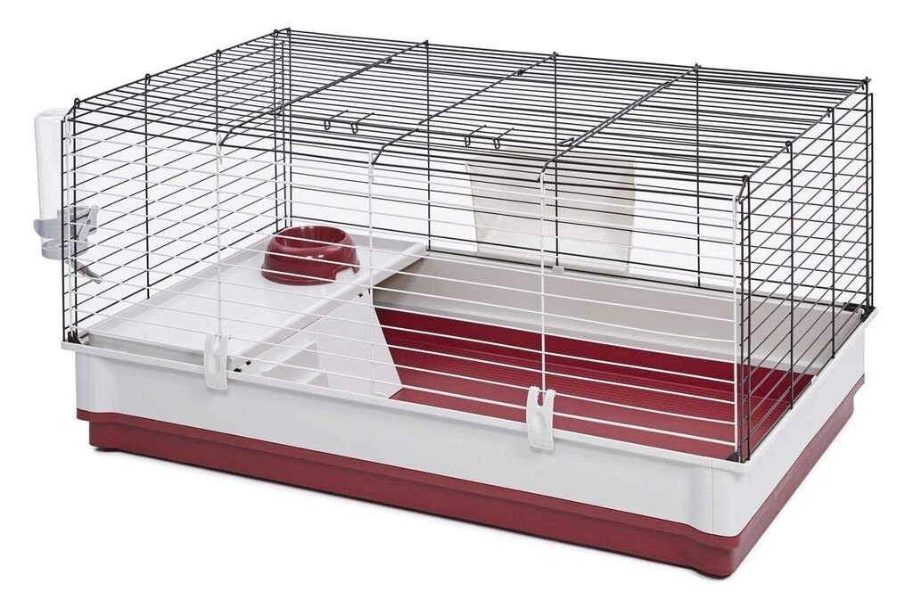 MidWest Homes for Pets 158 Wabbitat Deluxe Rabbit Home, Rabbit Cage, 39.5 L x 23.75 W x 19.75 H inch by MidWest Homes for Pets