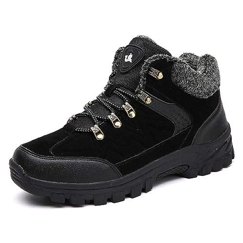H-Mastery Botas Montaña Hombre Zapatillas de Trekking Senderismo Impermeables Invierno: Amazon.es: Zapatos y complementos