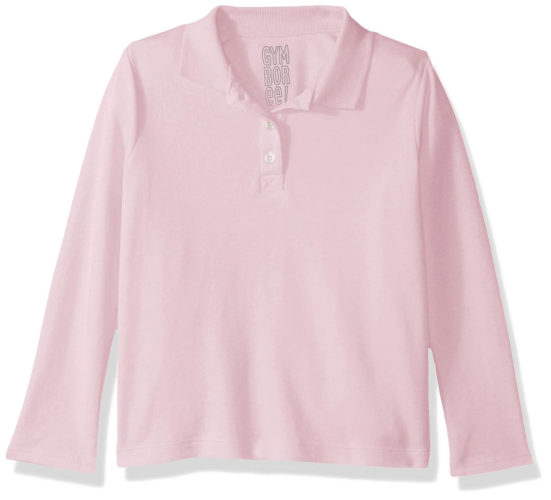 Gymboree Girls Big Long Sleeve Uniform Polo