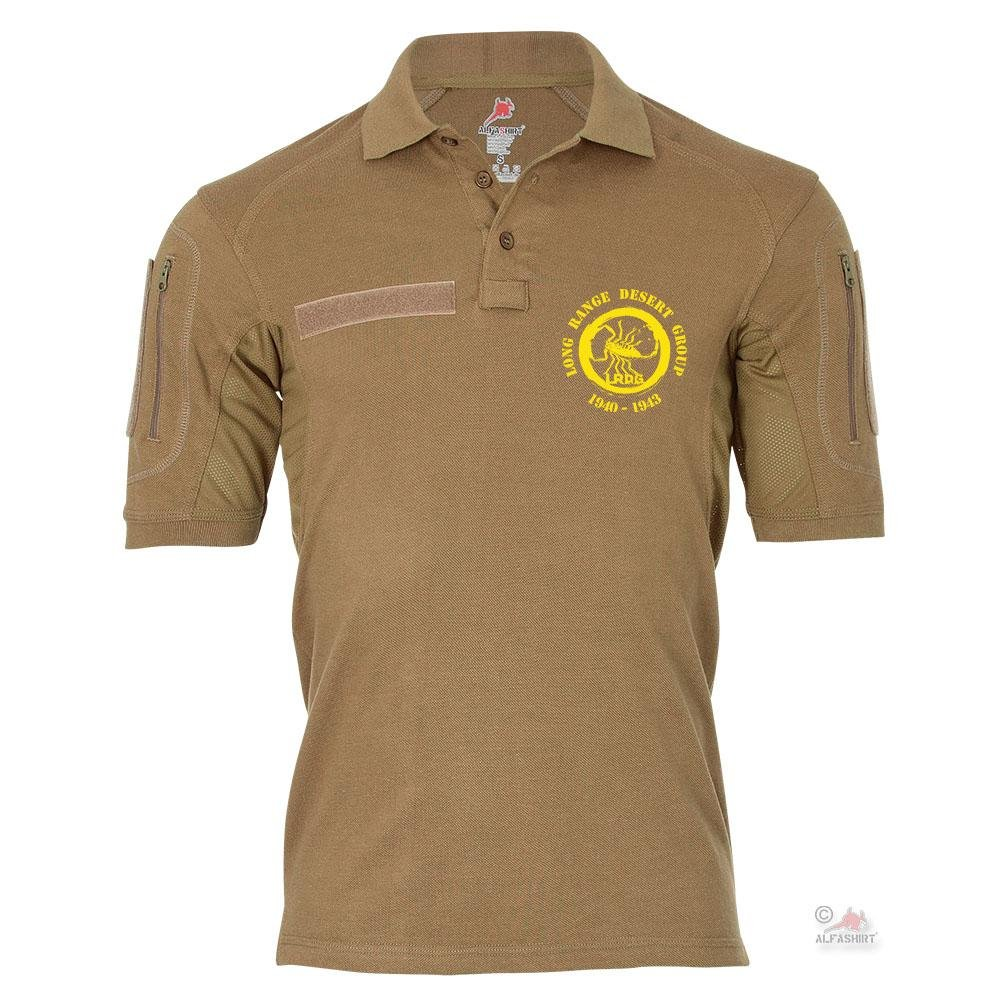 Tactical Poloshirt Alfa - Long Range Desert Group Spezialeinheit British Army Militär Abzeichen  19331