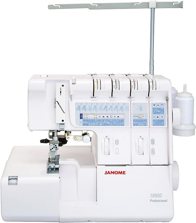 Janome 7974001025689-1200d máquina Profesional overlock.: Amazon ...