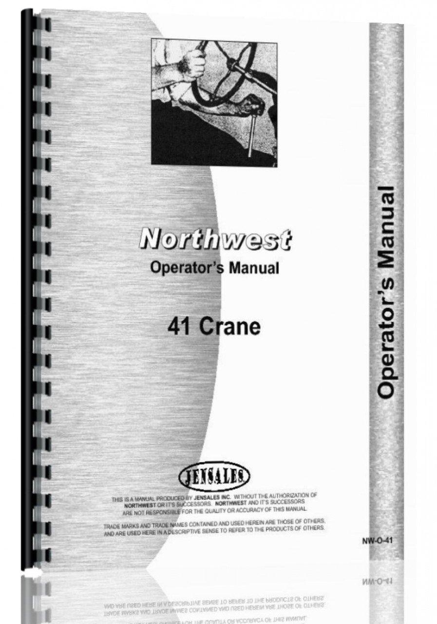 Read Online Northwest 41 Crane Operators Manual PDF