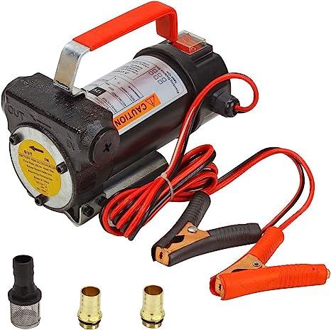 Amazon.com: Bomba de transferencia de combustible eléctrica ...