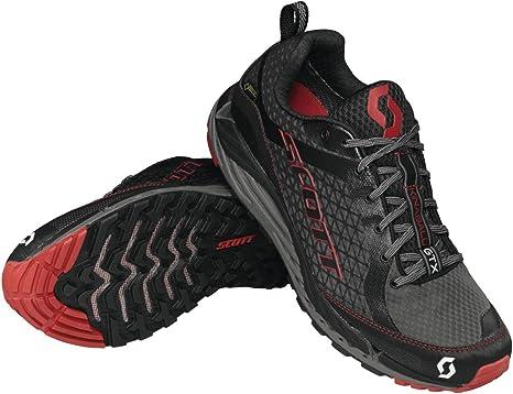 Scott T2 Kinabalu GTX 2.0 - Zapatillas de Running para Hombre, Negro (Negro/Rojo), 43 EU: Amazon.es: Zapatos y complementos