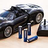 TENAVOLTS Rechargeable Lithium/Li-ion Batteries, AA Rechargeable Batteries, Constant Output at 1.5V, Quick Charge Less Than 2 Hours, 2775 mWh Electrical core Power- 4 Count