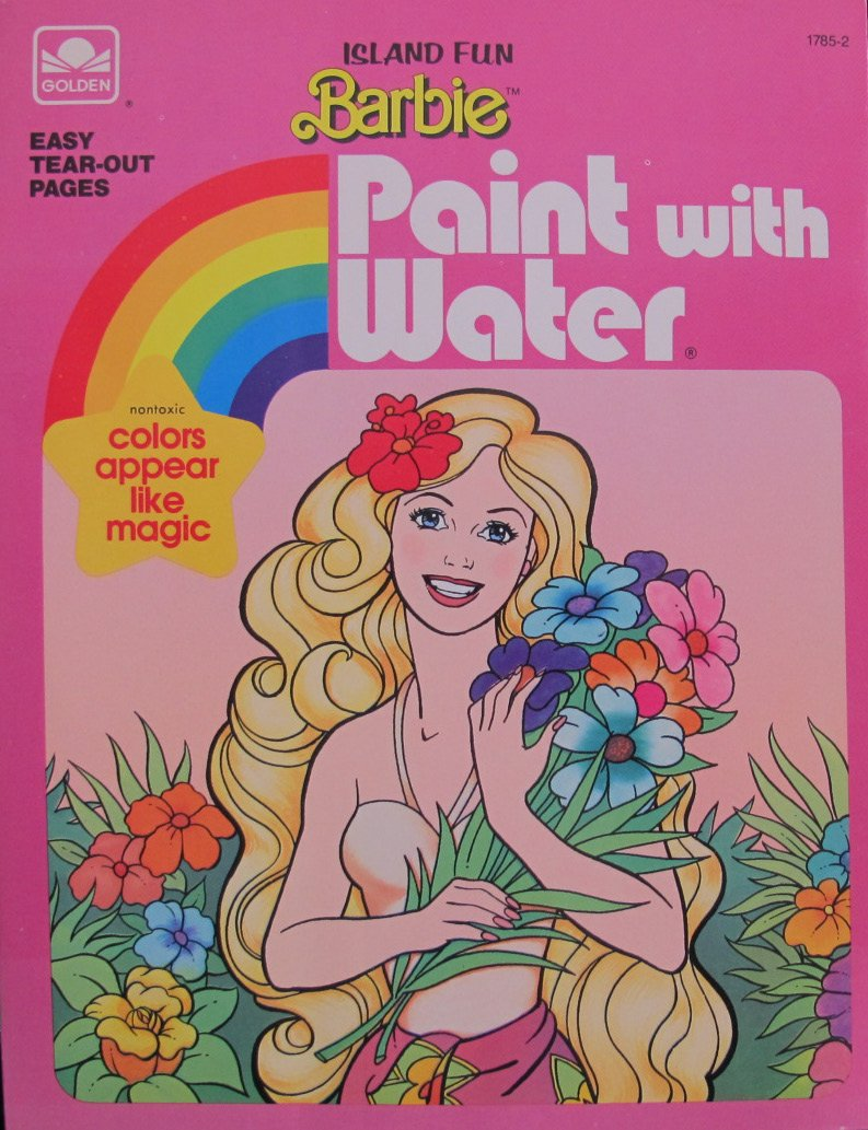 Vintage My Buddy Coloring Book Paint With Water Unused Paint With Water Coloring Books