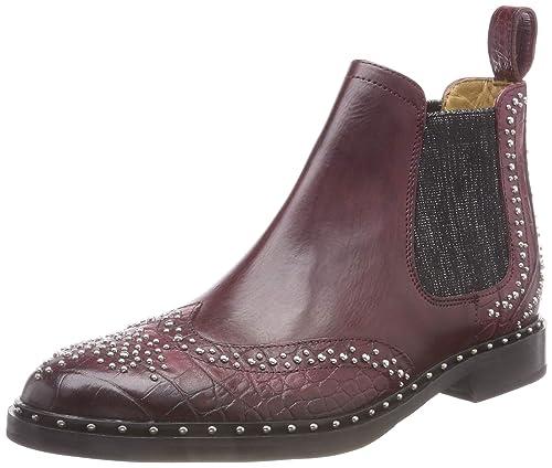 a1339073e602c Melvin   Hamilton Women s Sally 45 Chelsea Boots, Braun (Bigcroco Crust (1