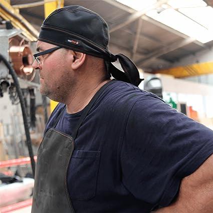 BANDANA IGNÍFUGA PROTECCIÓN SOLDADOR. Transpirable, muy ligera.: Amazon.es: Industria, empresas y ciencia