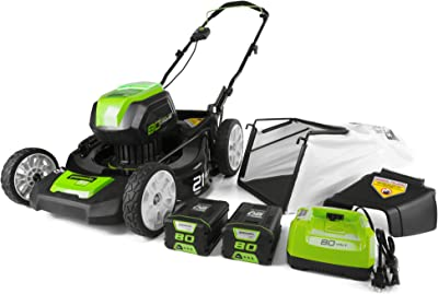 Greenworks 21-Inch 80V Lawn Mower