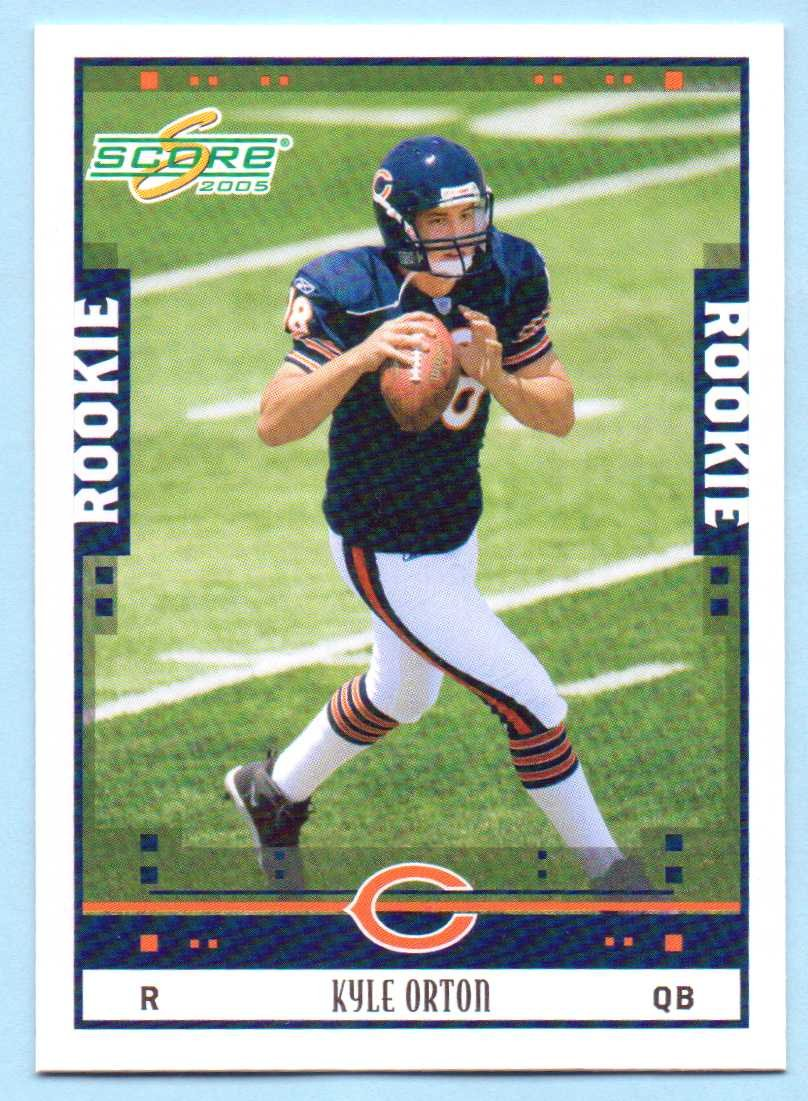 low priced f5c2b f562b Kyle Orton 2005 Score Rookie #377 - Buffalo Bills at ...