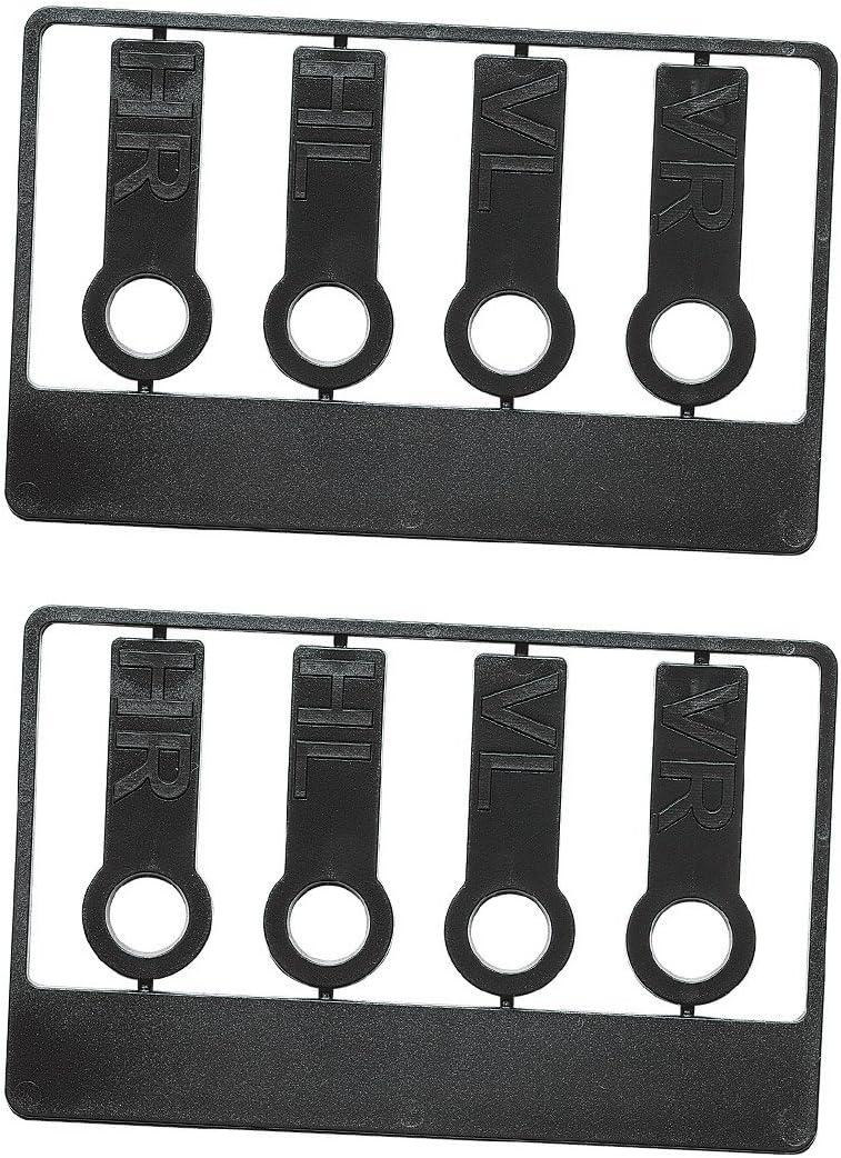 NEU 1 x Reifenprofilmesser Profiltiefenmesser 1 x Reifenmarkier-Set Blau