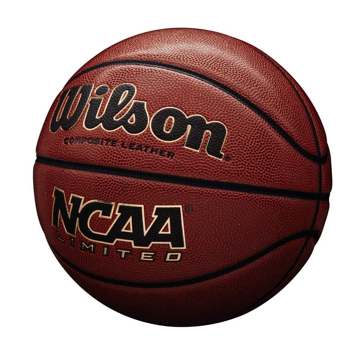 Amazon.com: Wilson NCAA oficial de piel compuesto limitada ...