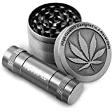 Formax420 Herb Grinder 2 Inch 4 Pieces with Pollen Press Inlcuded