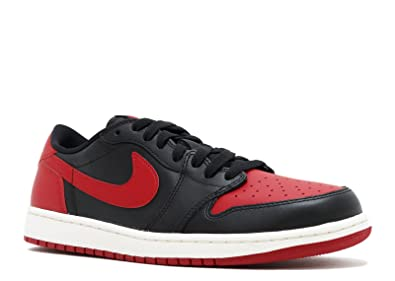 24a347ed92f46 Nike AIR Jordan 1 Retro Low OG 'BRED' - 705329-001: Amazon.in: Shoes ...