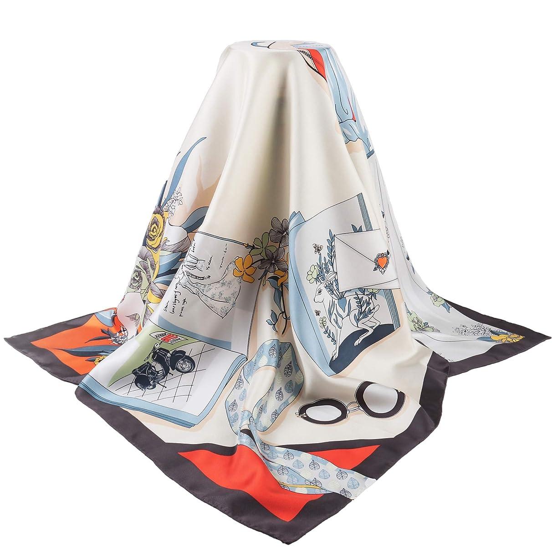 ネクタイ酸度復活する(トヨベイ)Toyobuy レディース バッグ スカーフ ツイリー スカーフ カバン ハンドル リボンスカーフ 巻きつけ アクセサリー 持ち手 小物 バッグ用 贈り物 ギフト