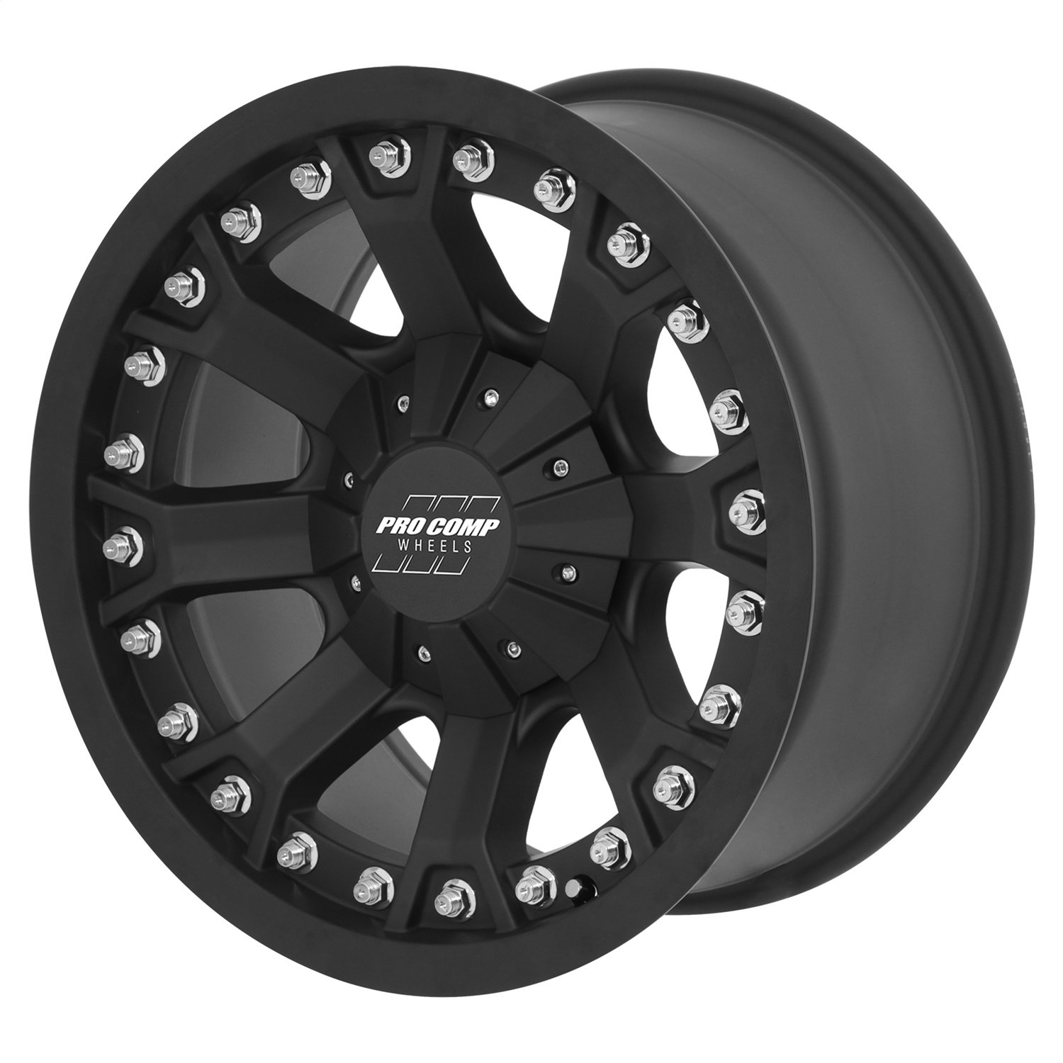 Pro Comp Alloys Series 33 Wheel with Flat Black Finish (18x9'/5x127mm) Pro Comp Wheels PXA7033-8973