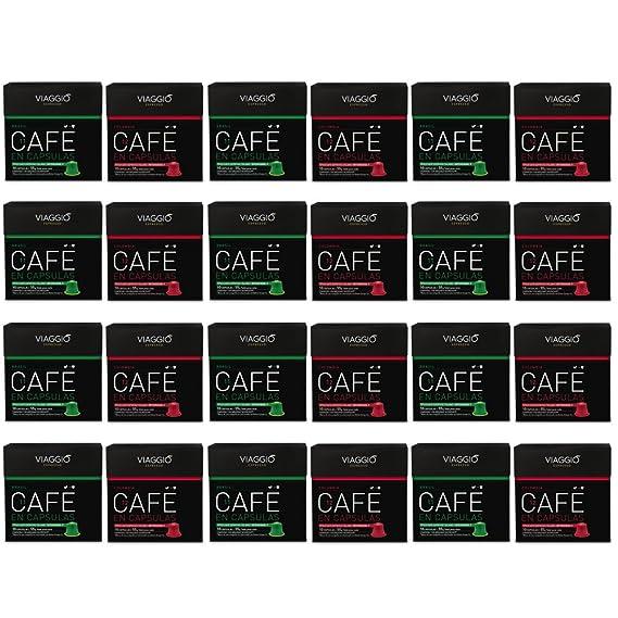 VIAGGIO ESPRESSO - 240 Cápsulas de Café Compatibles con Máquinas Nespresso - SELECCIÓN ORÍGENES
