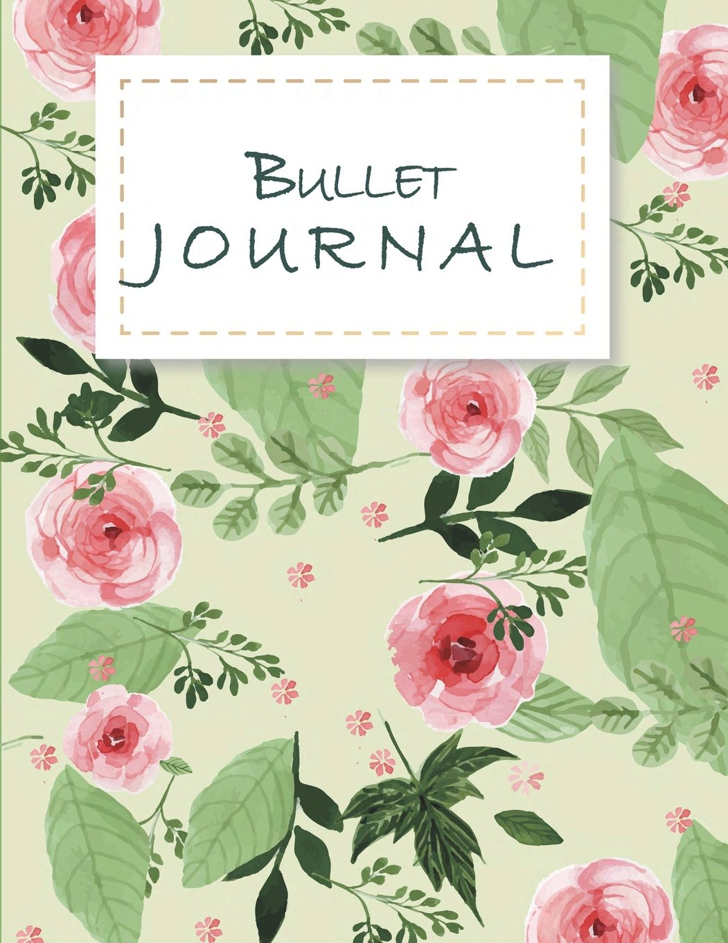 "Bullet Journal: Daily Notebook to Write in Bullet Dots & Dot Grid Paper 120 Pages 8.5"" x 11"". PDF"
