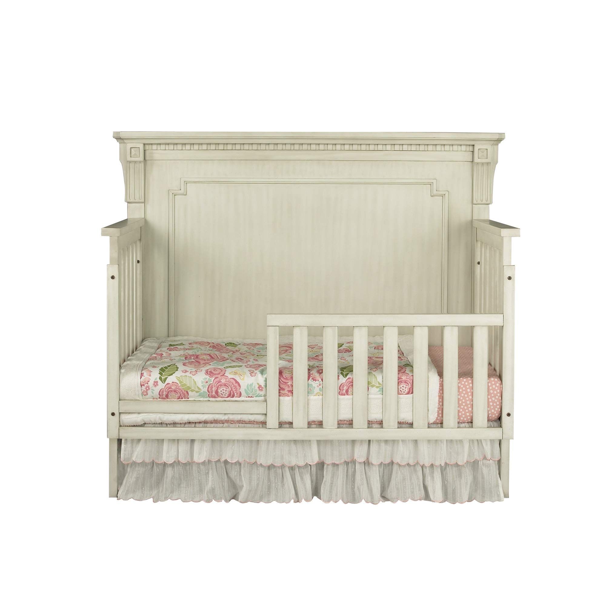 Oxford Baby Mid Century Claremont Guard Rail, Antique White by Oxford Baby (Image #3)