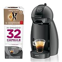 NESCAFÉ DOLCE GUSTO Piccolo con 32 capsule in omaggio, Macchina per Caffè Espresso e altre bevande Manuale
