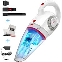 GeeMo Handheld Vacuum Cleaner 8500PA Wet Dry Powerful Cyclonic Suction Lightweight Quick Charge Vacuum Cleaner Cordless…