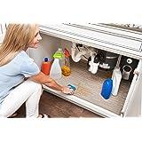 Xtreme Mats Under Sink Kitchen Cabinet Mat, 33 1/8 X 21 1/4, Beige