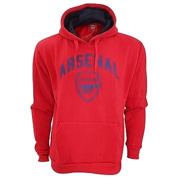 Arsenal London - Sudadera con Capucha - para Hombre Rojo Rojo Talla:L: Amazon.es: Deportes y aire libre