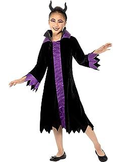 Guirca 87719 - Disfraz de Reina Maléfica para niña de 7/9 años, Negro y Morado, de 7 a 9: Amazon.es: Deportes y aire libre