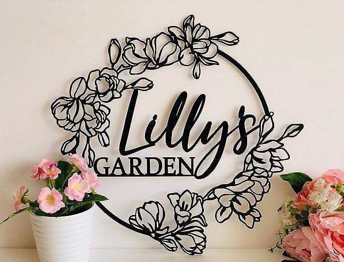 The Best Handmade Garden Signs