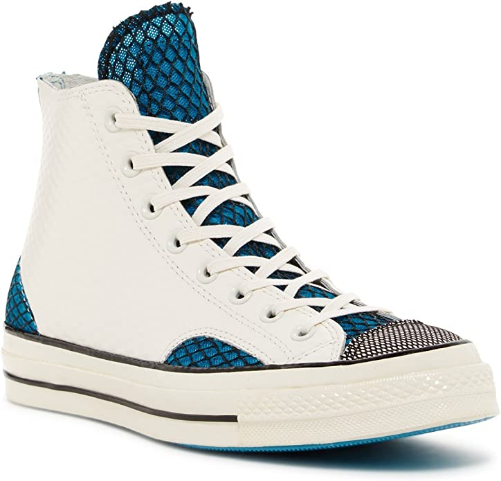 Converse Chucks (Chuck Taylor) All Star High Top Unisex Damen Herren Blau/Weiß (Reiher Horizont)