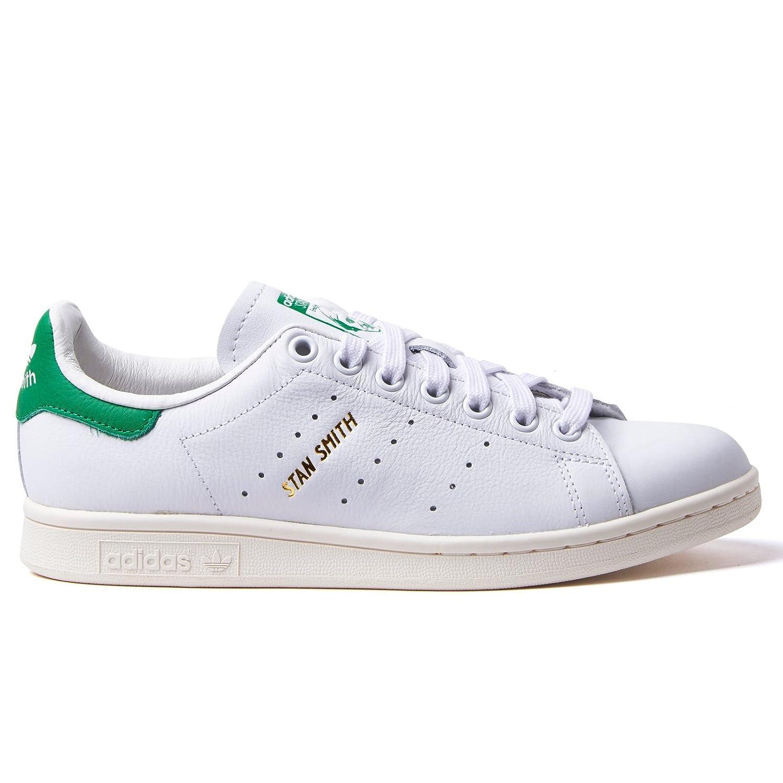 正規品 adidas アディダス オリジナルス スタンスミス [STAN SMITH] ホワイト/ホワイト/グリーン S75074 24.0cm  B07QK22L3B