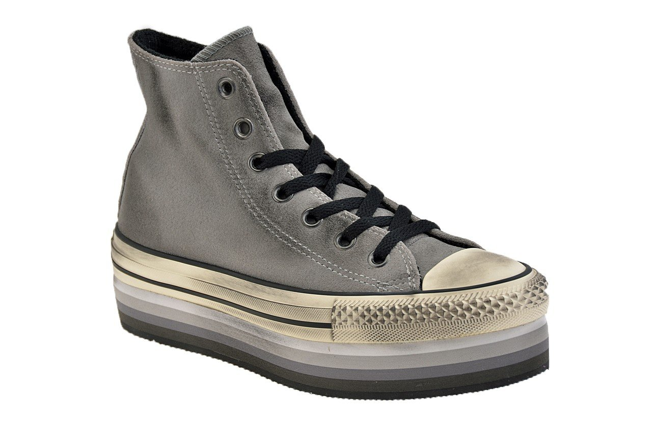 all star converse donna alte camoscio