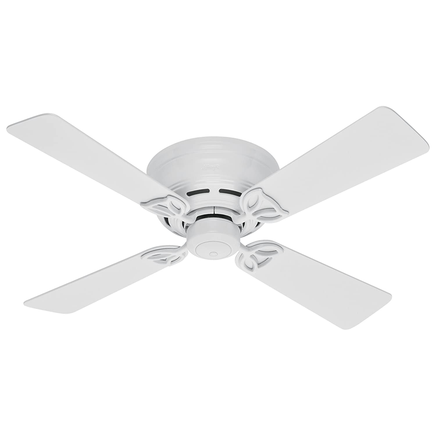 Hunter 23866 42-Inch White Lowprofile II Fan - Ceiling Fans - Amazon.com