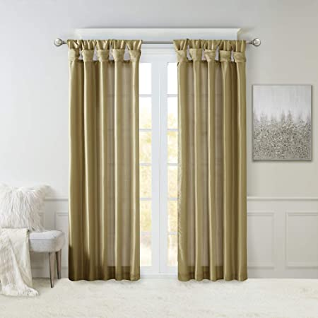 Amazon.com: Madison Park Emilia Darkening Curtain DIY Twist ...