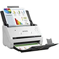 Epson B11B228202 Sheetfed Scanner, 600 DPI Optical, 30-bit Color, 30-bit Grayscale, 35 PPM (Mono), 35 PPM (Color), Duplex Scanning, USB 2.0